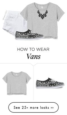 """""""R e b e l"""" by maxie10970 on Polyvore featuring Monki and Vans"""