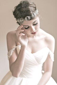 Enchanted Atelier Bridal Accessory Collection Fall and Winter 2013 | via junebugweddings.com