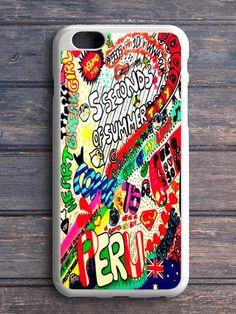 5 Sos Art Color iPhone 5C Case