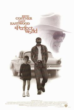 """A Perfect World: Longest ending scene ever. I watched Kevin Costner bleed on a tree for 20 minutes. I was """"meh"""" about this movie."""