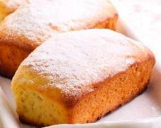 Petits cakes à la compote de pommes