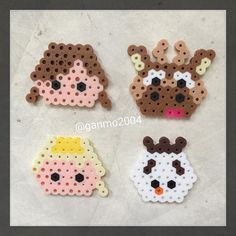 Frozen perler beads by Perler Bead Templates, Diy Perler Beads, Perler Bead Art, Pearler Beads, Hama Beads Disney, Perler Bead Disney, Melty Bead Patterns, Perler Patterns, Beading Patterns