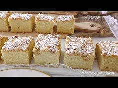 ERZİNCAN LOKUMU Tarifi|Pasta Tarifleri #Masmavi3mutfakta - YouTube Krispie Treats, Rice Krispies, Vanilla Cake, Banana Bread, French Toast, Food And Drink, Breakfast, Desserts, Kitchen