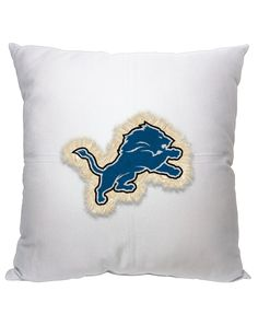 Show your team spirit with plush pillows this football season!