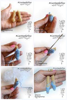 Кукла амигуруми мастер-класс крючком
