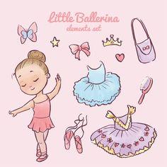 Картинки с девочками балеринами