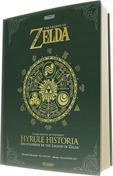 Hyrule Historia : L'encyclopédie officielle de Zelda - Sortie en français en décembre 2013