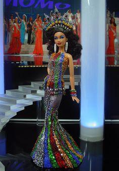 jaynedoll — thedollcafe: Miss Comoros 2013/14 by NiniMomo...