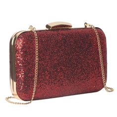 Clutch Purse for Women/Red Glitter Evening Bag Hardcase for Party - Source by roseinbags Bags handbags Red Clutch, Clutch Purse, Fashion Handbags, Purses And Handbags, Women's Clutches & Evening Bags, Bridal Handbags, Clutches For Women, Popular Handbags, Red Glitter