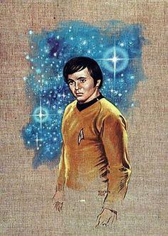 STAR TREK CHECKOV PRINT by Kelly Freas SciFi and Fantasy Art