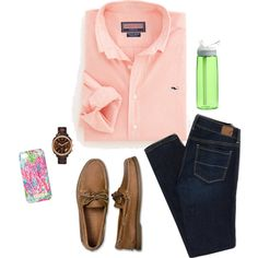 Untitled #79 by meredith-ray on Polyvore featuring American Eagle Outfitters, Sperry Top-Sider, MICHAEL Michael Kors, Lilly Pulitzer and CamelBak