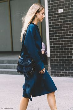 New York Fashion Week Spring Summer 2016 Street Style