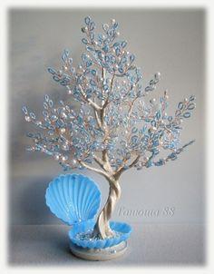 Жемчужиное дерево | biser.info - всё о бисере и бисерном творчестве