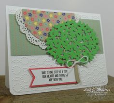 StampinDreams.com    Stampin Up; Thoughtful Branches bundle;