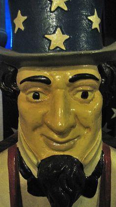 cast iron Uncle Sam