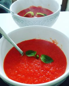 Very easy! Soup Recipes, Healthy Recipes, Healthy Food, Cream Soup, Salsa, Good Food, Lunch, Stuffed Peppers, Fish