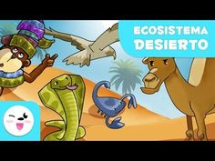 El Desierto para niños - Kolitas Naturaleza - YouTube