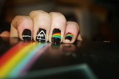 Pink Floyd 'Dark Side of the Moon' Nails