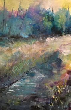 "Acrylic Painting 4x6"" Small Format Original Landscape by BrandedArt on Etsy https://www.etsy.com/listing/509405931/acrylic-painting-4x6-small-format"
