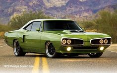 Mopar - Killer Bee.. my favorite year too!