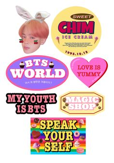 Pop Stickers, Tumblr Stickers, Printable Stickers, Kids Diary, Bts Aesthetic Pictures, Bullet Journal Ideas Pages, Bts Chibi, Aesthetic Stickers, Cute Icons