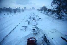 Lakeshore Drive - blizzard