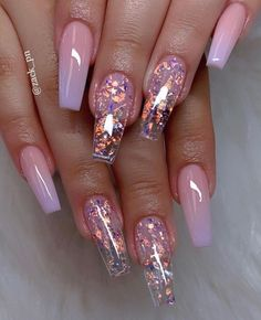 40 Fabulous Nail Designs That Are Totally In Season Right Now - - These fabulous nail art designs are super unique and glamorous, these will give you the trendy looks and give your nails a whole new. Almond Nail Art, Almond Acrylic Nails, Best Acrylic Nails, Almond Nails, Short Nail Designs, Nail Art Designs, Nails Design, Pink Nails, Gel Nails