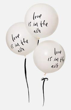 De jolies messages à placer sur les ballons