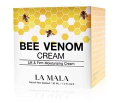 Product review for LA MALA Bee Venom Cream Anti Wrinkle Lifting Face skin tightens cream 30 ml./1 oz Net Weight: 30 ml./1 Oz. Century palace in central Europe used to do skin care beauty bee stings In modern times this recipe to be improved to become cream We do not look quite terrible nameIt 's great , but the efficacy of Ingredients: LAMALA natural wild bee venom cream containing wild... http://anti-aging.bestselleroutlet.net/product-review-for-la-mala-bee-venom-crea