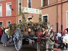 Desfile de Caros de la Fiesta de la Vendimia Toro 2015
