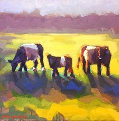 3 Cow Family - 16x16 - Katie Jacobson Art .jpg