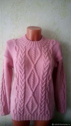 Купить Свитер кашемировый Розовая пудра в интернет магазине на Ярмарке Мастеров
