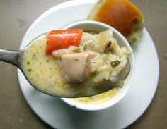 Creamy Chicken and Wild Rice Soup   Lauren's Latest
