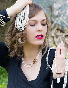 Entdecke eine große Auswahl an Perlenhalsketten zum Dirndl. Crochet Earrings, Jewelry, Fashion, String Of Pearls, Pearl Jewelry, Dirndl, Handmade, Nice Asses, Moda