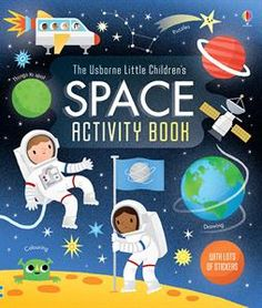 Booktopia has Little Children's Space Activity Book, Usborne Activity Books by Rebecca Gilpin. Buy a discounted Paperback of Little Children's Space Activity Book online from Australia's leading online bookstore. Space Activities For Kids, Kids Activity Books, Stem Activities, Educational Activities, Space Books, Space Facts, Book Drawing, Kid Spaces, Toy Store