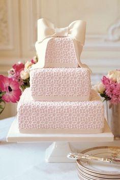 Cute wedding cake