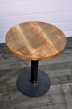 Industrial Bistro Table Union Wood Company