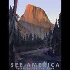 Yosemite National Park by Alyssa Winans  #SeeAmerica