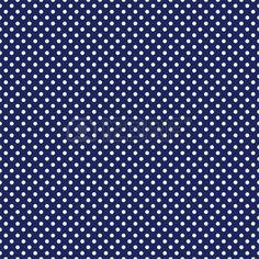 patr n transparente con lunares blancos sobre un fondo marino azul marino oscuro Foto de archivo
