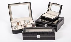 image for 3, 6, 10 or 24-Piece Watch Box