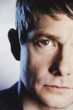 STOP THE WORLD NOW AND LOOK AT THIS: Martin Freeman is f***ing flawless.