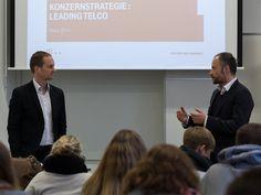 """Dr. Christian Zabel zu Gast in der Vorlesung """"Converging Markets"""" über die Zukunftsstrategie der Telekom AG"""