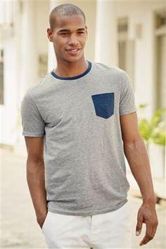 Buy Blue Feeder Stripe T-Shirt from the Next UK online shop