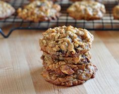 It's all the extra stuff that makes them the Best Ever Oatmeal Cookies - at The Creekside Cook