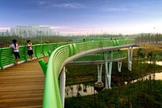 TURENSCAPE landscape architecture Suining Sleeve bridge 03 « Landscape Architecture Works | Landezine - Inspiration for Al Aeer Pathway by SI Architects
