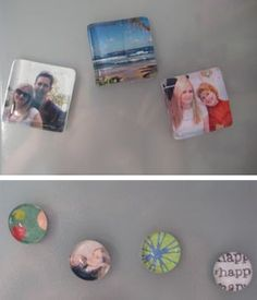 Decorate Your Fridge With These DIY Glass Pebble Magnets - Mom, we need to make these!!