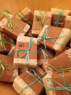 Maui beach wedding favors ~ Simply Rustic Soap Co.
