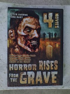 Horror Rises From The Grave (DVD, 2002, 2-Disc Set) 4 MOVIES SCARY