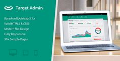Target  Responsive Bootstrap 3 Admin Template