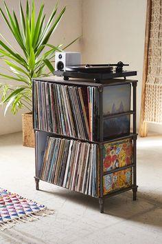 Vinyl Storage Shelf - Urban Outfitters